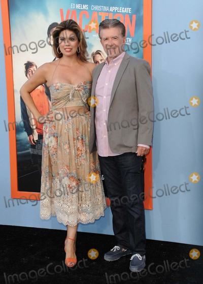 Alan Thicke Photo - Alan Thicke Tanya Callau attending the Los Angeles Premiere of  Vacation Held at the Regency Village Theater in Westwood California on July 27 2015 Photo by D Long- Globe Photos Inc
