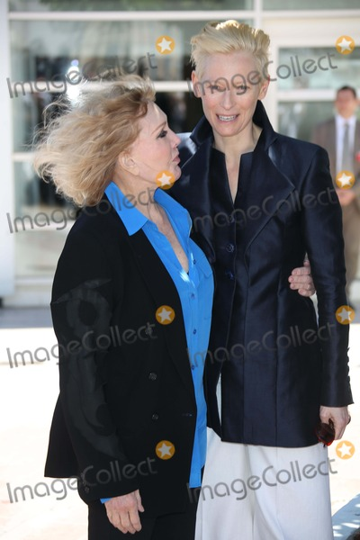 Kim Novak Photo - Actresses Kim Novak and Tilda Swinton (R) Attend the Photo Call of Hommage a Kim Novak During the the 66th Cannes International Film Festival at Palais Des Festivals in Cannes France on 25 May 2013 Photo Alec Michael Photo by Alec Michael - Globe Photos Inc