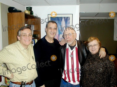 Al Goldstein Photo - Ron Striano (the Strangeloves) Joey Reynolds (Radio Personality) AL Goldstein (Editor of Screw Magazine) and Myra Chanin Photo Mark Kasner-Globe Photos Inc