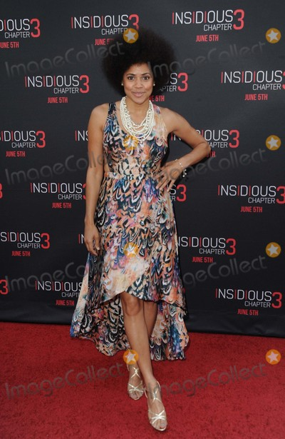 Amaris Davidson Photo - Amaris Davidson attending the Los Angeles Premiere of Insidious Chapter 3 Held at the Tcl Chinese Theatre in Hollywood California on June 4 2015 Photo by D Long- Globe Photos Inc