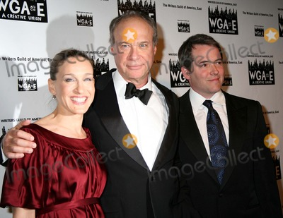 Andrew Bergman Photo - Annual Writers Guild Awards the Huson Theater NYC February 11 07 Photos by Sonia Moskowitz Globe Photos Inc 2007 Sarah Jessica Parker and Matthew Broderick and Honoree Andrew Bergman