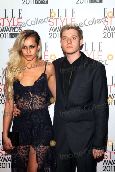 Alice Dellal Photo - Brazilian Model Alice Dellal and Guest Attend the 2011 Elle Style Awards Awards at Grand Connaught Rooms in London Great Britain on 14 February 2011 Alec Michael - Globe Photos Inc 2011