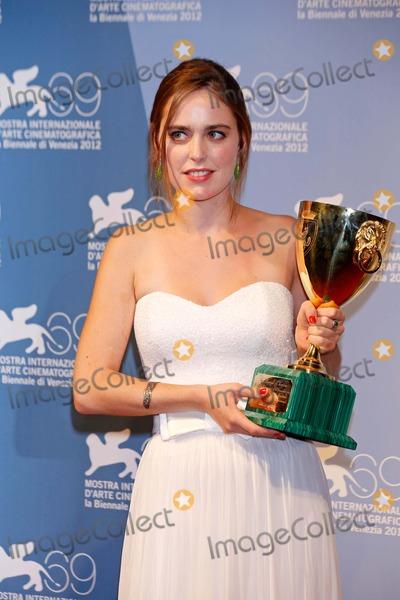 Hadas Yaron Photo - Hadas Yaron Coppa Volpi For Best Actress Winners Photo Call 69th International Venice Film Festival Venice Italy September 08 2012 Roger Harvey