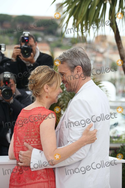 Anne Consigny Photo - French Actors Lambert Wilson and Anne Consigny Pose at the Photocall of You Aint Seen Nothin Yet During the 65th Cannes Film Festival at Palais Des Festivals in Cannes France on 21 May 2012 Photo Alec Michael Photo by Alec Michael-Globe Photos Inc
