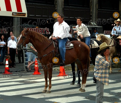 Tom Berenger Photo - Sd0819 Cattle Drive in Times Square to Promote Johnson County War a Four Hour Epic Western Which Will Premiere on the Hallmark Channel on August 24th Times Squarenyc Tom Berenger Photojohn BarrettGlobe Photos Inc