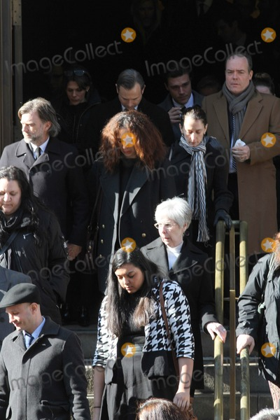 Phillip Seymour Hoffman Photo - Phillip Seymour Hoffman Funeral at St Ignatius Loyola Church in Manhattan Bruce Cotler 2014 Maya Rudolph