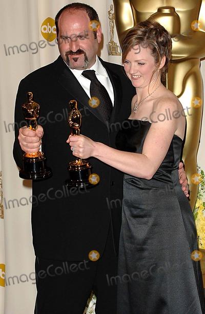 Howard Berger Photo - 78th Annual Academy - Oscars Awards (Pressroom) Kodak Theatre Los Angeles CA 03-05-2006 Photo Fitzroy Barrett-Globe Photos Inc 2006 Howard Berger Tami Lane