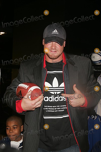 Jeremy Shockey Photo - Grand Opening of Largest Adidas Sport Performance Store in the World in Soho  New York 05-07-2005 Photo  Rick Mackler-rangefinders-Globe Photosinc 2005 Jeremy Shockey