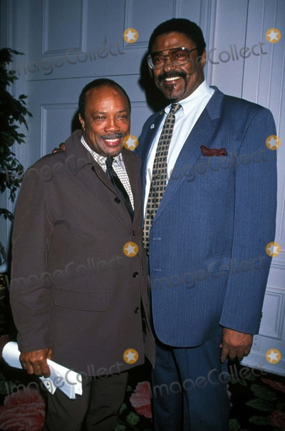 Rosey Grier Photo - Help Awards Beverly Hilton CA Quincy Jones_rosey Grier 1997 Photo by Lisa RoseGlobe Photosinc Quincyjonesretro