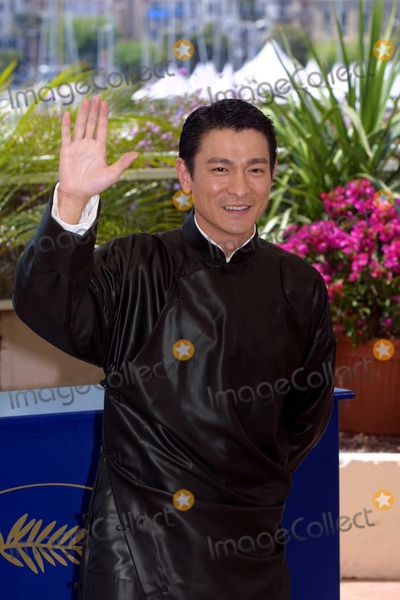 Andy Lau Photo - Cannes Film Festival - House of Flying Daggers - Photocall Andy Lau 5192004 Photo Bycosima ScavolinilapresseGlobe Photos Inc 2004