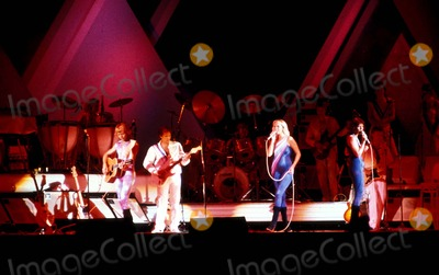 ABBA Photo - Phto Mark Roth  Globe Photos Inc Abba Stagebandreq