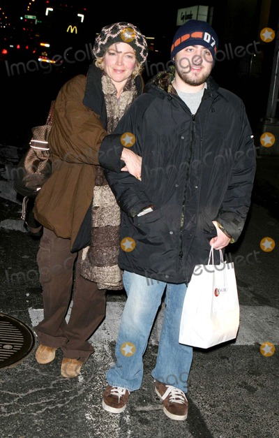 Amy Irving Photo - Celebrities Out and About  New York City 01-02-2006 Photo by John Barrett-Globe Photosinc Amy Irving and Son Max