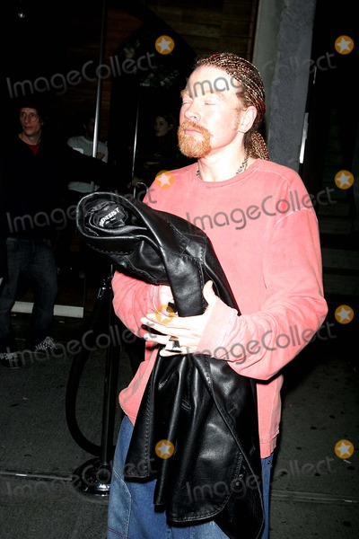 Axl Rose Photo - Axl Rose Club Hopping NYC 03-13-2006 Photos by Rick Mackler Rangefinder-Globe Photos Inc2006 Axel Rose