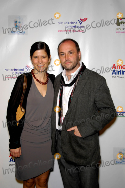 Colum McCann Photo - Allison Hawke and Colum Mccann During the Pre-academy Awards Event Oscar Wilde Honoring the Irish in Film Held at the Ebell Club on March 4 2010 in Los Angeles Photo by Michael Germana - Globe Photos Inc 2010