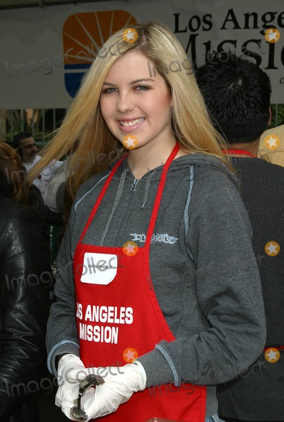 Ashlie Brillault Photo - Los Angeles Mission Christmas Party Downtown Los Angles CA 122403 Clinton H WallaceipolGlobe Photos Inc 2003 Ashlie Brillault