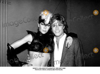 Andy Gibb Photo - Wendy O Willians of Plasnatics and Andy Gibb Photo by Lynn Nc AfeeGlobe Photosinc