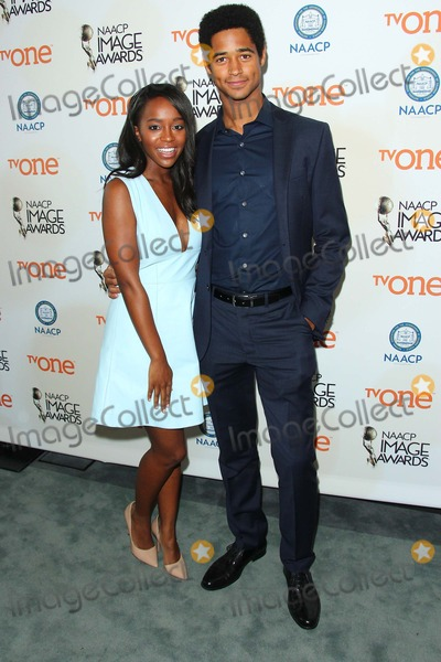 Alfred Enoch Photo - Aja Naomi King Alfred Enoch Attend 46th Naacp Image Awards Nomination Announcement and Press Conference on 9th December 2014 at the Paley Center For Mediabeverly Hillscaliforniausaphoto Tleopold Globephotos