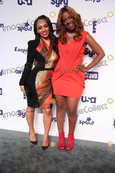 Melyssa Ford Photo - NBC Uni Cable Upfront Presentation 2014 Red Carpet Arrivals the Javits Center NYC May 15 2014 Photos by Sonia Moskowitz Globe Photos Inc 2014 Melyssa Ford Daisy Lewellyn