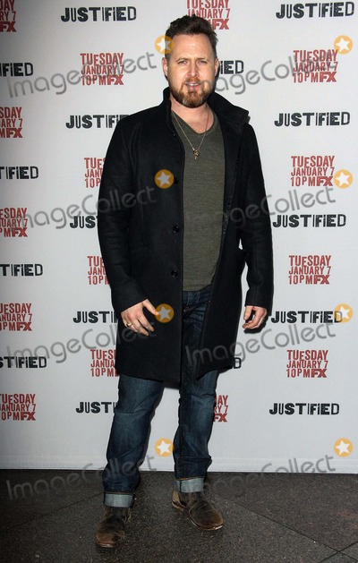 AJ Buckley Photo - Aj Buckley attends the Premiere Screening of Fxs Justified Season - 5s on January 6 2014 at the Dga Theater in Los Angeles CaliforniausaphototleopoldGlobephotos