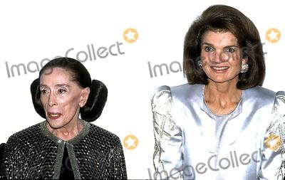 Jacqueline Kennedy Onassis Photo - Martha Graham Jacqueline Kennedy Onassis