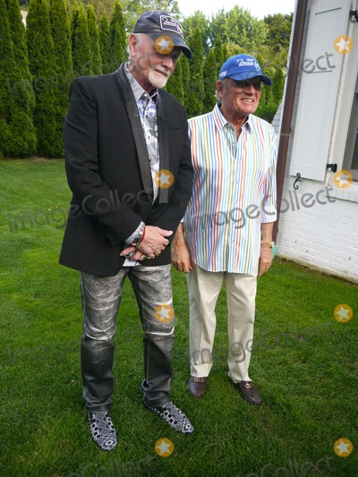 The Beach Boys Photo - Mike Love and Bruce Johnston at the Beach Boys Concert at Guild Hall Guild Hall East Hampton NY July 3 2015 Photos by Sonia Moskowitz Globe Photos Inc
