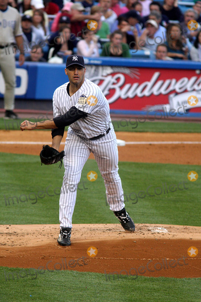 Andy Pettitte Photo - -17-08 Andy Pettitte Yankees Vs San Diego Padres at Yankee Stadium Photos by John Barrett-Globe Photosinc