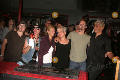 Don Bolles Photo - I13580CHWTHE GERMS INDUCTED INTO HOLLYWOODS ROCKWALK 7425 SUNSET BLVD HOLLYWOOD CA  082008THE GERMS POSING WITH ACTORS - L-R - NOAH SEGAN DON BOLLES BIJOU PHILLIPS LORNA DOOM WITH SHANE WEST AND PAT SMEAR  PHOTO CLINTON H WALLACE-PHOTOMUNDO-GLOBE PHOTOS INC