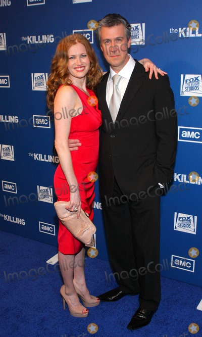 Alan Ruck Photo - Mireille Enos Alan Ruck the Killing Los Angeles Premiere Held at Harmony Gold Theatre Los Angeles CA March 21 - 2011 photo by Tleopold-globe Photos Inc