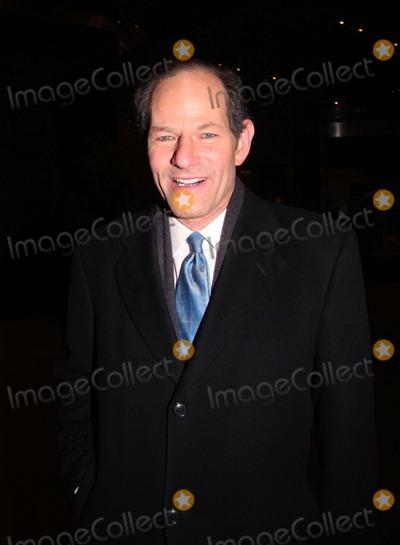 Eliot Spitzer Photo - Eliot Spitzer Leaving Cnn Studio in NYC 02-04-2011 photo by William Regan- Globe Photos Inc 2011