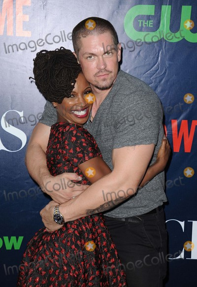 Steve Howey Photo - Shanola Hampton Steve Howey attending the Cbs Showtime Cw Tca Party Held at the Pacific Design Center in West Hollywood California on August 10 2015 Photo by D Long- Globe Photos Inc