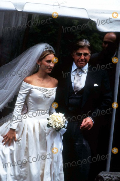 Alex Von Furstenberg Photo - Alexandra Von Furstenbergs Wedding(dianes Daughter) Alexandra N Miller and Robert Miller 10281995 Photo by John BarrettGlobe Phtos Inc