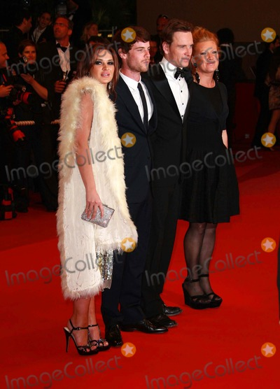 Andrea Arnold Photo - Kierston Wareing Harry Treadaway Michael Fassbender  Andrea Arnold Actors  Director Fish Tank Premiere at the 2009 Cannes Film Festival at Palais Des Festival Cannes France 05-14-2009 Photo by David Gadd-allstar-Globe Photos Inc 2009