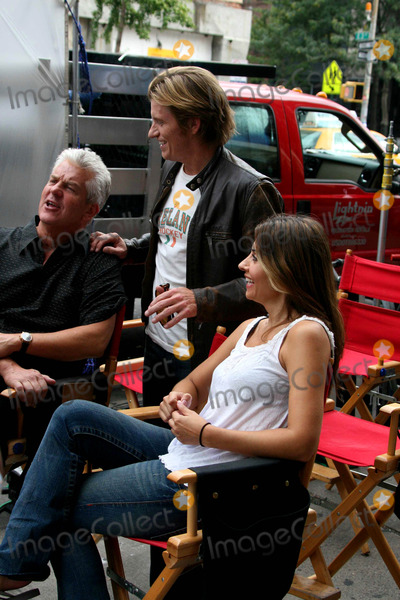 Callie Thorne Photo - Lenny Clarke Denis Leary Callie Thorne on the Set of Rescue Me Outside of the Dempsey Pub on Second Ave New York City 09-24-2009 Photo by John Barrett-Globe Photos Inc 2009