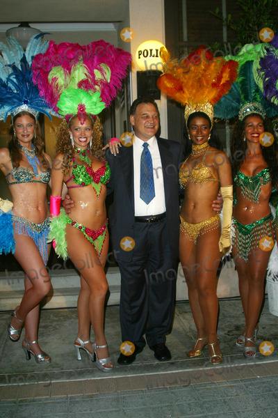 Ed ORoss Photo - Ed Oross and Dancers Los Angeles Sports  Entertainment Commission Exclusive Pre-emmy Party Sony Pictures Studio Culver City CA September 21 2002 Photo by Nina PrommerGlobe Photos Inc2002