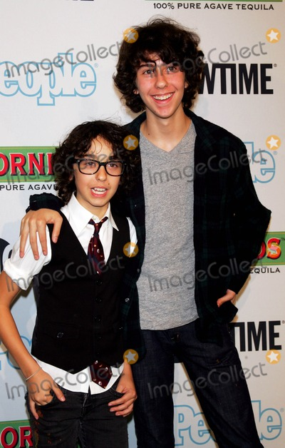 Naked Brothers Photo - The Naked Brothers Band Nat (R) and Alex Wolff Arrive For the Premiere of Bon Jovi When We Were Beautiful at the Sva Theater in New York on October 21 2009 Photo by Sharon NeetlesGlobe Photos Inc
