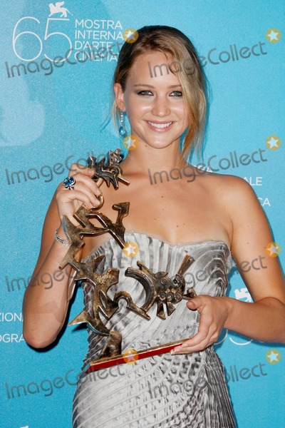 Jennifer Lawrence Photo - 2008 Venice Film Festival Awards Photocall Venice Italy 09-06-2008 Photo by Graham Whitby Boot-allstar-Globe Photos Inc2008 Jennifer Lawrence Wins Coppa Volpi Best Young Actor or Actress
