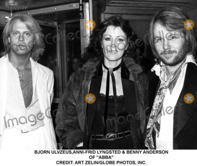 ABBA Photo - Bjorn Ulvzeusanni-frid Lyngsted  Benny Anderson of Abba Credit Art ZelinGlobe Photos Inc