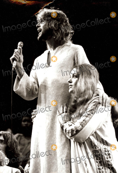 Ted Neeley Photo - Jesus Christ Superstar (Ted Neeley and Dana Gillespie) Photo John Blau  Globe Photos Inc 1972 Sept 21