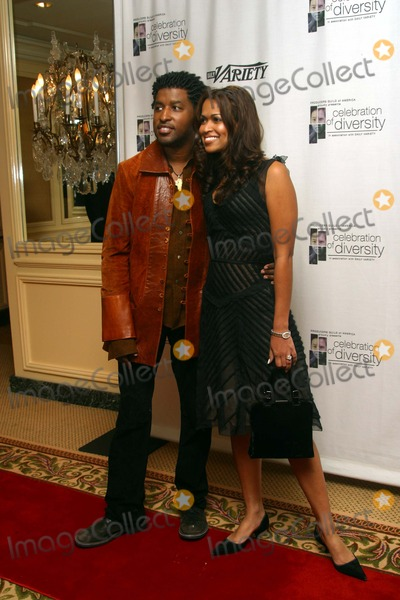 Babyface Photo - Kenny Babyface Edmonds and Wife Tracy Celebration of Diversity Held by the Producers Guild of America Regent Beverly Wilshire Hotel Beverly Hills CA October 28 2002 Photo by Nina PrommerGlobe Photos Inc 2002