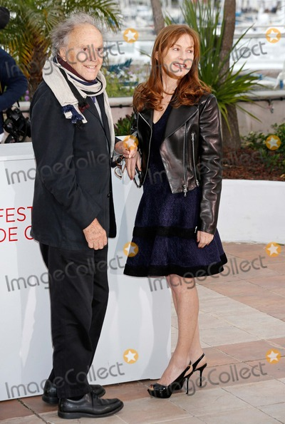 Jean-Louis Trintignant Photo - Jean-louis Trintignant Isabelle Huppert Amour Photocall 65 Cannes Film Festival Cannes France May 20 2012 Roger Harvey Photo by Roger Harvey-Globe Photos Inc