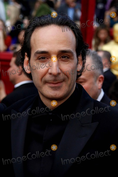 Alexandre Desplat Photo - Musician Alexandre Desplat Arrives at the 62nd Annual Academy Awards - the Oscars - on the Red Carpet in Front of Kodak Theatre in Los Angeles USA on 03-07-2010 Photo by Alec Michael-Globe Photos Inc 2010