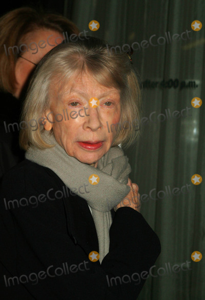 Joan Didion Photo - Hbo Presents New York Premiere of John Adams Museum of Modern Art New York City 03-03-2008 Photo by Mitchell Levy-Globe Photos Inc Joan Didion
