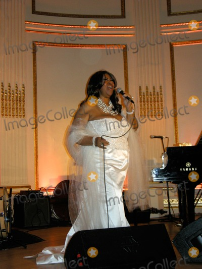 Aretha Franklin Photo - Aretha Franklin Performs at Congressman Charlie Rangels Birthday Celebration at the Plaza Hotel in New York 81011 Photo by Bruce Cotler-Globe Photos Inc
