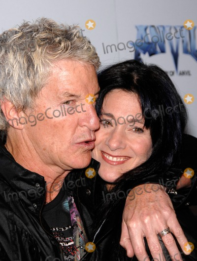 Anvil Photo - Kevin and Lisa Cronin During the Premiere of the New Movie Anvil the Story of Anvil  Held at the Egyptian Theatre on 04-07-2009 in Los Angeles Photo Michael Germana- Globe Photos
