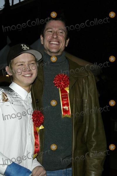 Evan Ellingson Photo - Vincent Ventresca and Evan Ellingson - 73rd Hollywood Christmas Parade - Hollywood CA - 11282004 - Photo by Nina PrommerGlobe Photos Inc2004