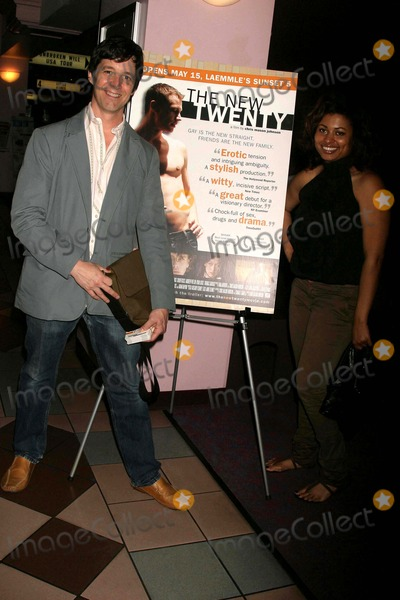Abiodun Photo - the New Twenty Los Angeles Premiere Laemmles Sunset 5 Theatres West Hollywood CA 051509 the New Twenty Cast Members- L-r- Chris Mason Johnson-director and Aina Abiodun-producer Photo Clinton H Wallace-photomundo-Globe Photos Inc