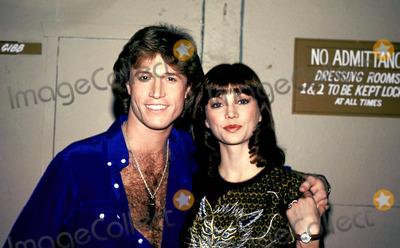 Andy Gibb Photo - Andy Gibb and Victoria Principal Photo BymcaGlobe Photos Inc