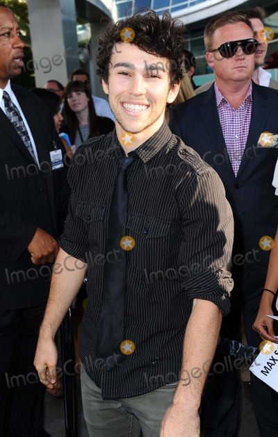Max Schneider Photo - Max Schneider attending the Los Angeles Premiere of the Conjuring Held at the Arclight Cinerama Dome in Hollywood California on July 15 2013 Photo by D Long- Globe Photos Inc
