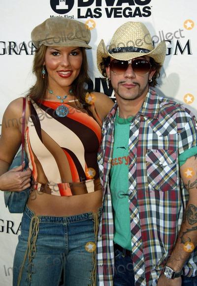 AJ MCLEAN Photo - Divas Las Vegas 2352 Mgm Grand Las Vegas USA Aj Mclean and Sarah Martin