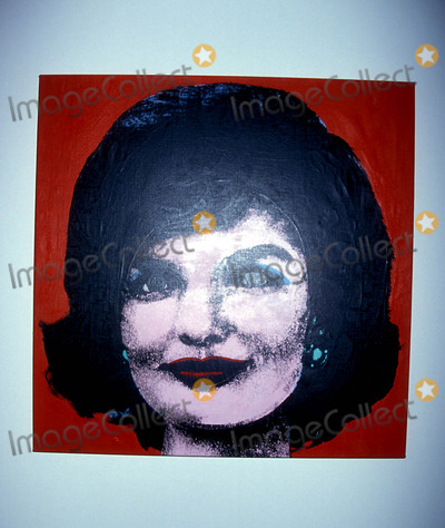 Andy Warhol Photo - Sd0514 the Andy Warhol Museum Opening Jackie Kennedy Onassis Photo Byrose HartmanGlobe Photos Inc